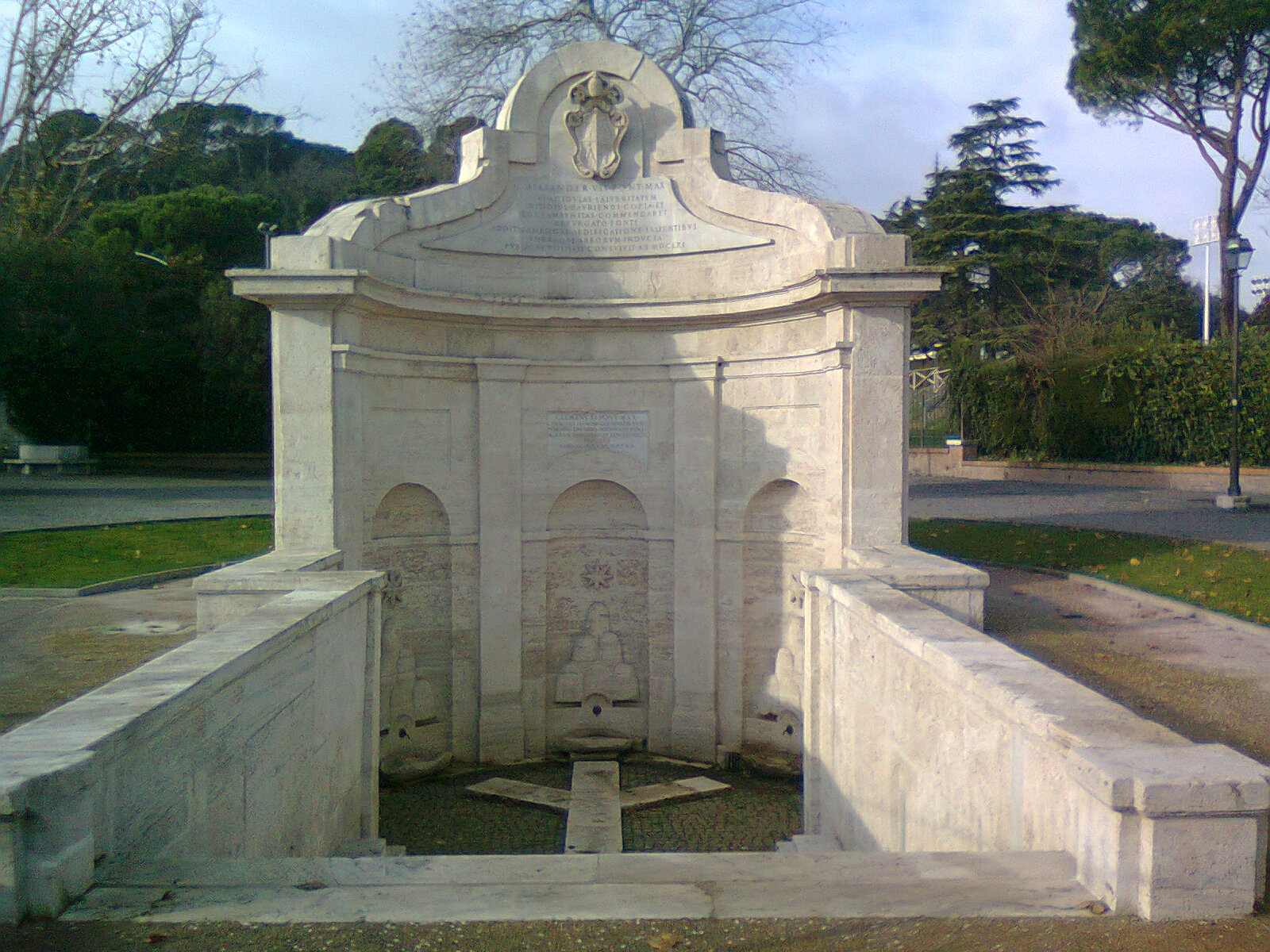 Fontana dell Acqua Acetosa Rome Information the best site on tourism in rome
