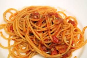 Bucatini alla amatriciana Rome Information the best site on tourism in rome