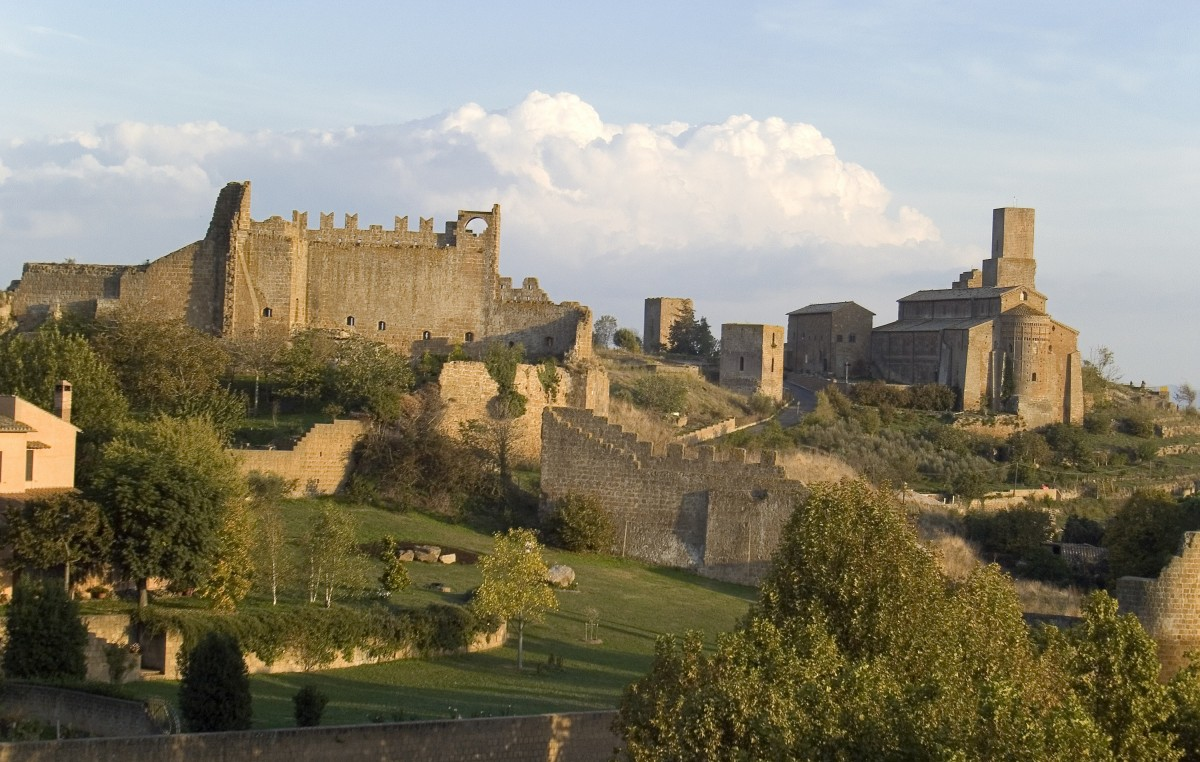 tuscania - panorama Rome Information the best site on tourism in rome