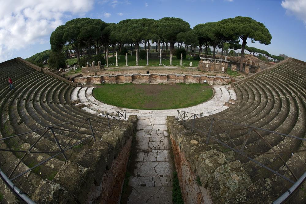 Ancient Ostia Theatre