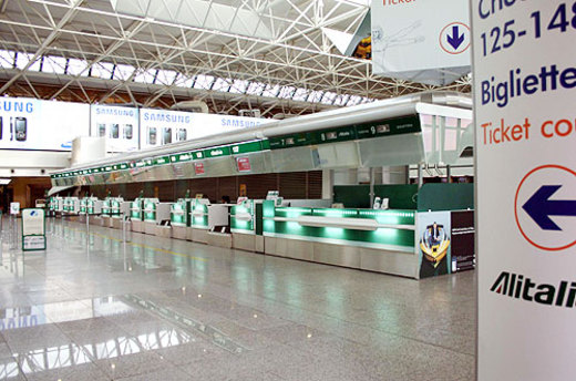 Airport of Fiumicino