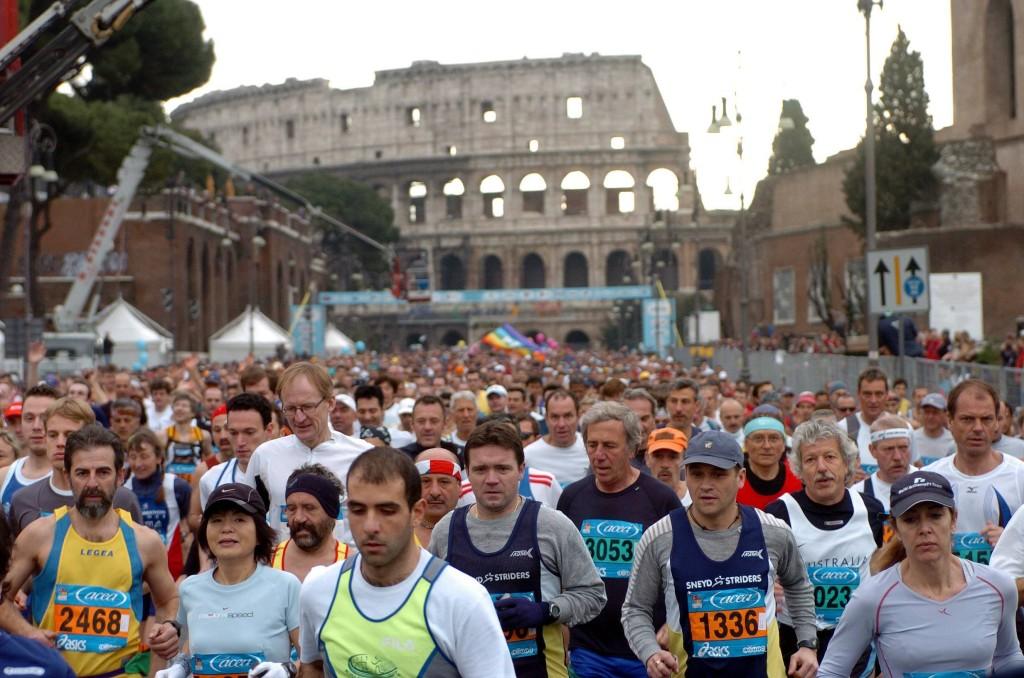 SPORT, ATRLETICA: MARATONA DI ROMA