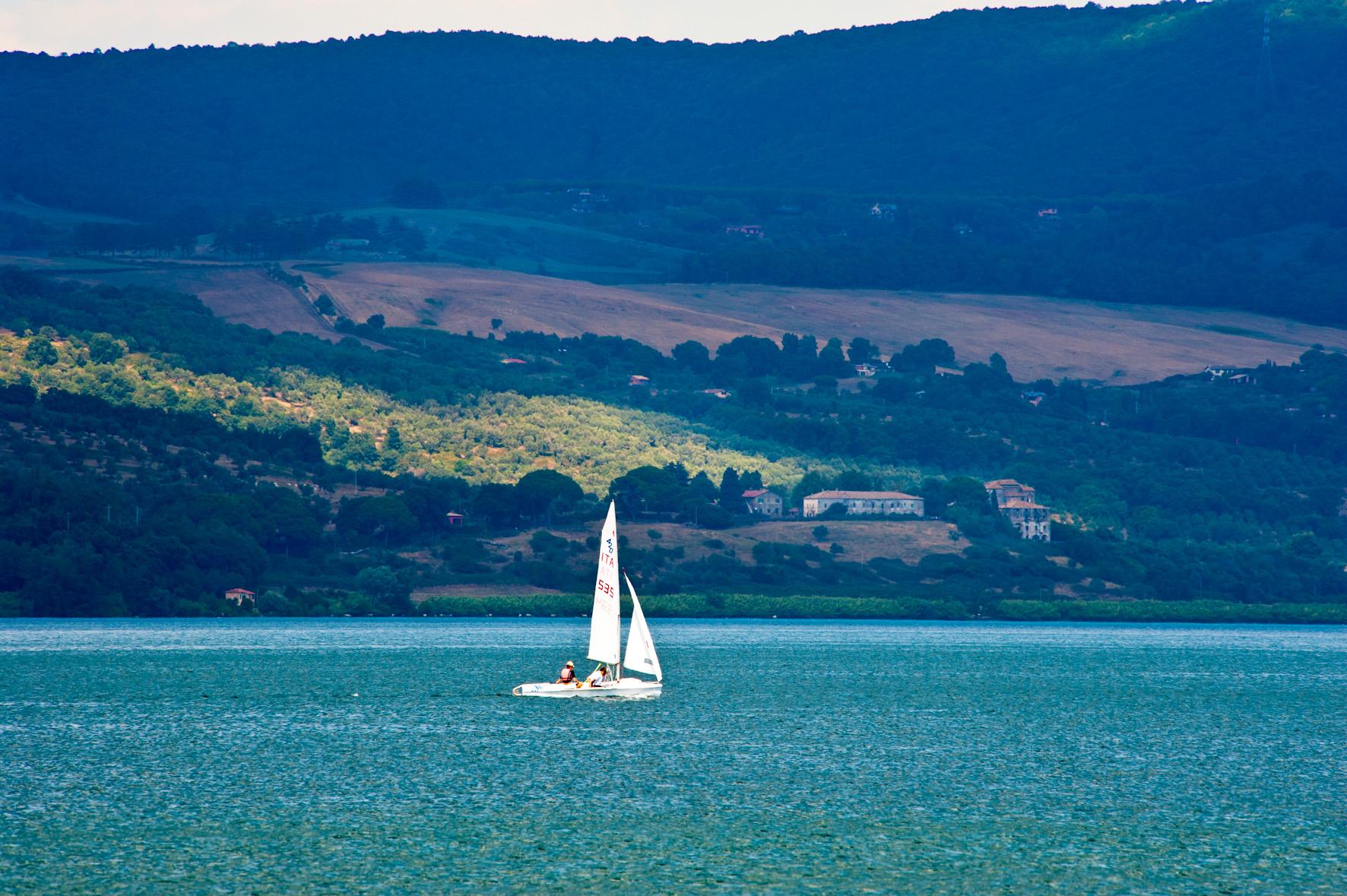 Panoramica Lago di Bracciano