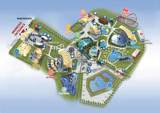 Zoomarine Water Park In Rome Rome Information