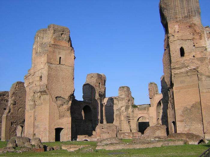 rome travel baths of caracalla roman baths. Black Bedroom Furniture Sets. Home Design Ideas