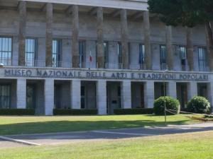 Museo delle Arti e Tradizioni Popolari a Roma - Entrata
