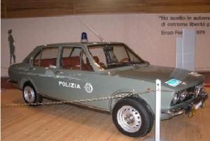 Museo delle Auto della Polizia a Roma