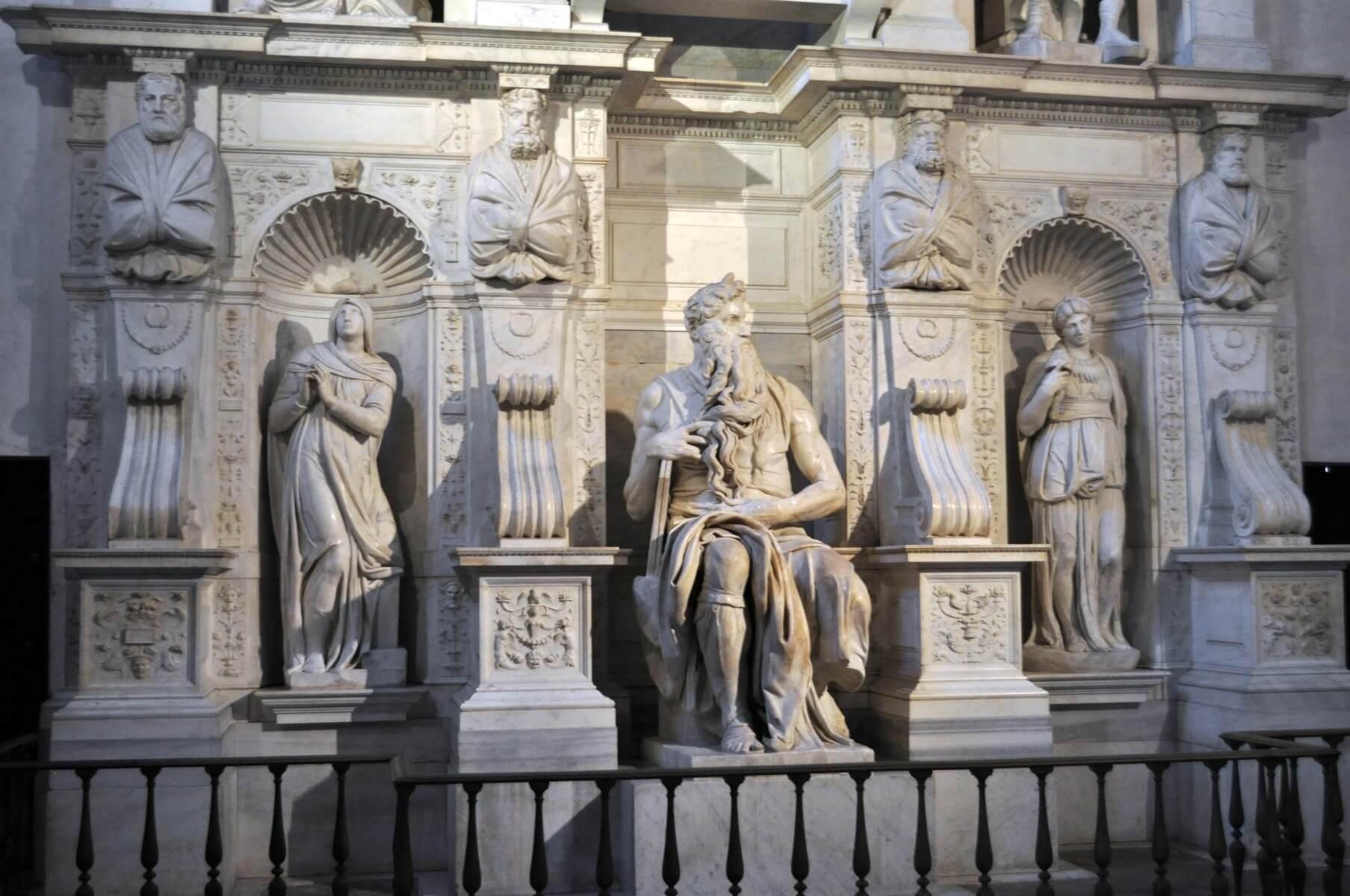 Basilica-San-Pietro-Vincoli-Mosè