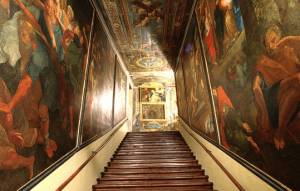 Tour Catacombs, St. John and Holy Stairs
