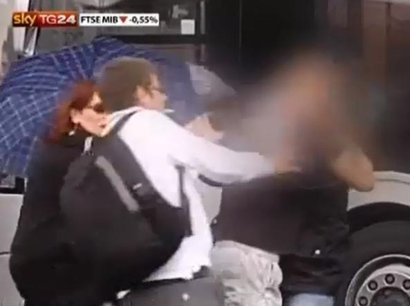 Roma Ispettore dell Atac Aggredito