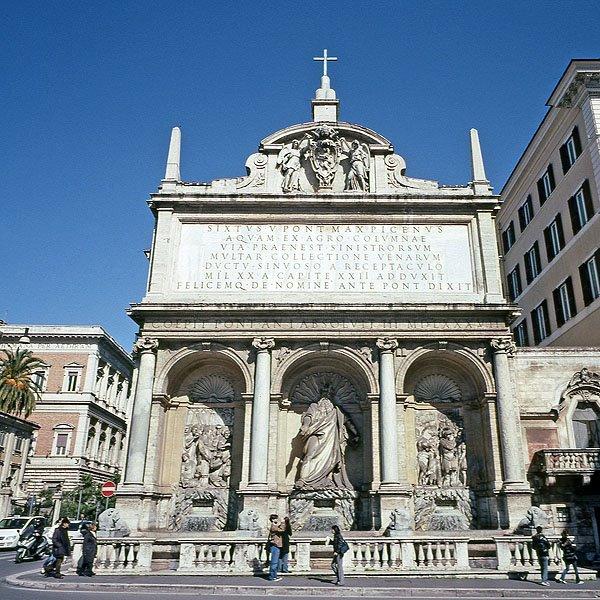 Fontana dell Acqua Felice 2