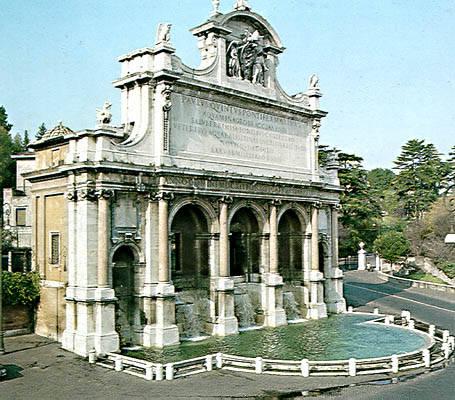 Fontana dell Acqua Paola 2