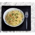 Tonnarelli aglio, olio e peperoncino