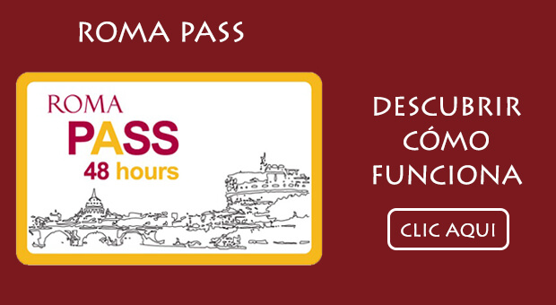 Banner Roma Pass Spagnolo
