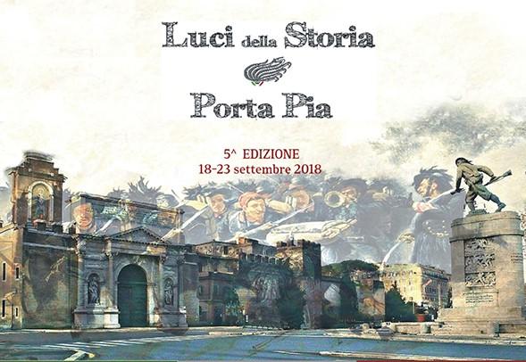 ROMA EVENTI - LUCI DELLA STORIA SU PORTA PIA